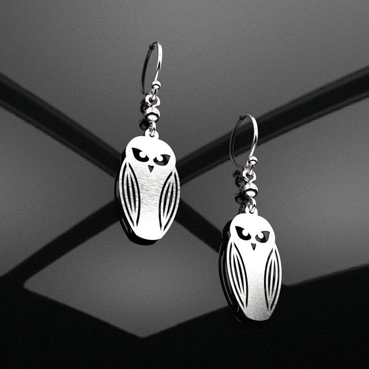 owl-earrings